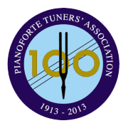 Pianoforte Tuner's Association logo